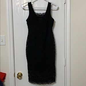 Candie's black tank dress. Juniors size XS